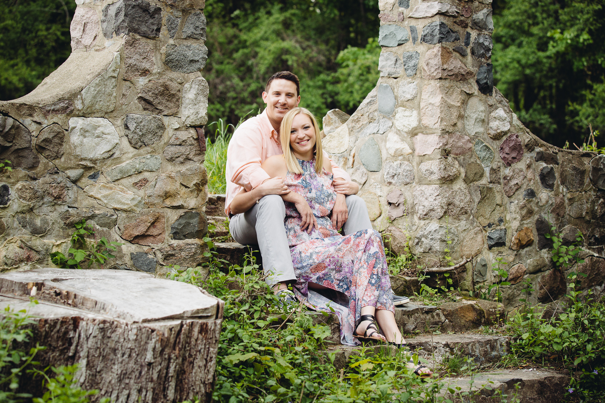 Laura Amp Joe Engagement At Stoney Creek Metro Park Shelby Twp MI Blend Photography