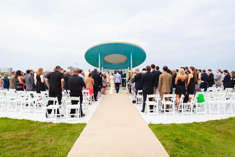 Detroit boat club wedding