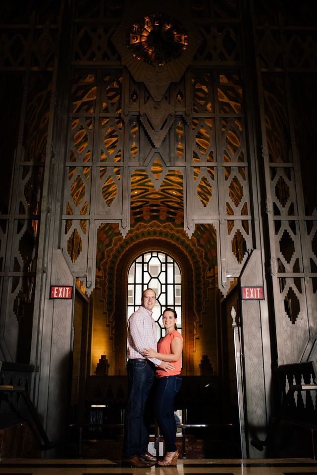 Guardian Building engagement photo