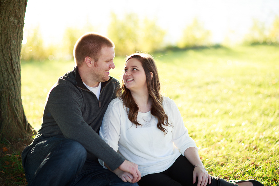 Stoney Creek Metropark engagement photos